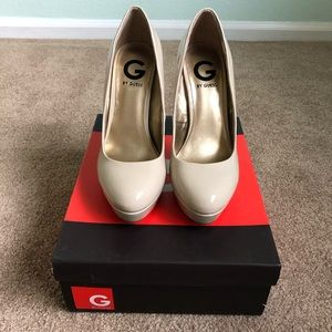 Guess high heels shoes size 7